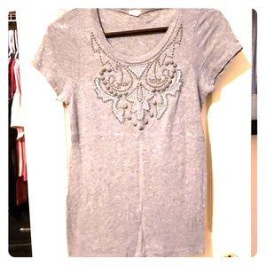 Tshirt with embellishments